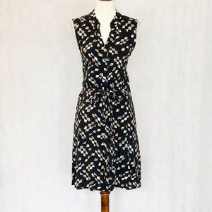 Anthropologie Maeve Sleeveless Button Front Dress